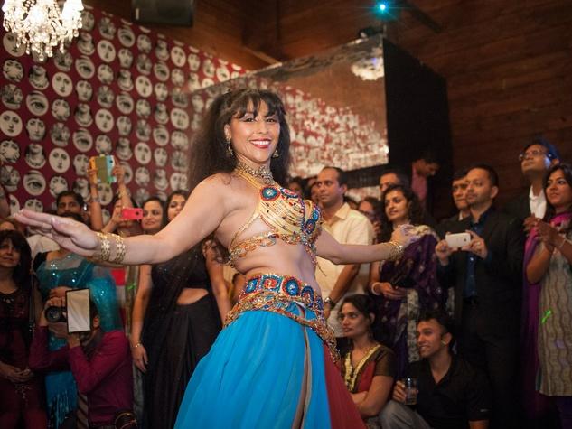 Dancer at Bollywood Ball