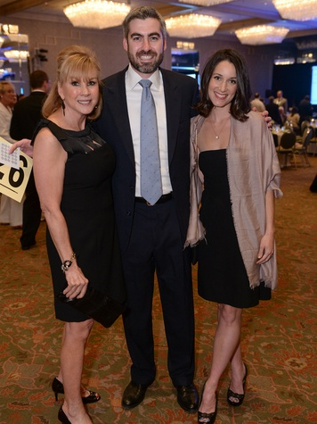 Penny Barre, Kyle and Rachel Moreland, thrive event