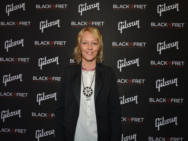 Gibson Black Ball Red Carepet Black Fret grant recipient Amy Cook