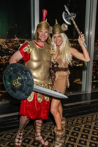 32 Steve Kennedy and Mariana Prueger at The Patroleum Club Halloween party November 2014