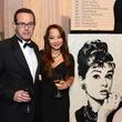 35 David Fink and Diane Nguyen at the UNICEF Gala October 2014