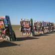 Cadillac Ranch, cadillacs, cars