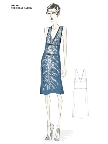 Miu Miu Gatsby Houston May 2013 sketch THIS WITH WORDING