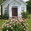 Texas Ranch Life chapel with roses