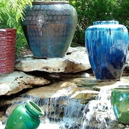 Pottery at Jackson's Home & Garden in Dallas
