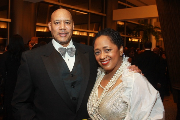 149 Dr. Bruce Matson and Jocelyn Matson at the UNCF Gala November 2013