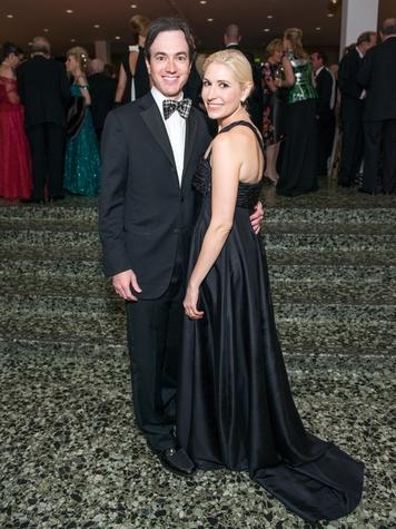 29 Danny and Isabel David at the MFAH Grand Gala October 2014