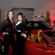 Sandra Winters and Janet Armador at fashion preview party in The Woodlands