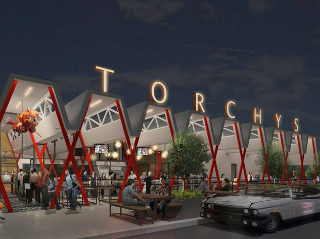 rendering of Torchy's Tacos on South Congress by Chioco Designs