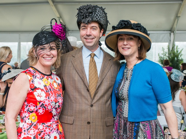 Hats in the Park, March 2016,  Kelly Lubanko, Jim Neslon, Leigh Smith