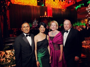 009, Houston Ballet Ball, February 2013, Suresh Khator, Renu Khator, Martha Adger, James Maged