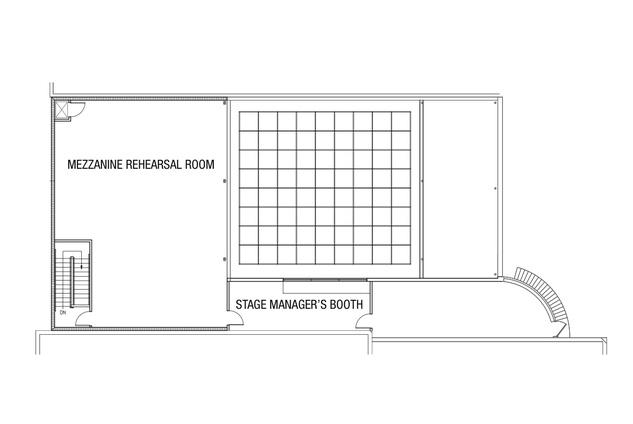 Main Street Theater Floor Plan Second Floor 2