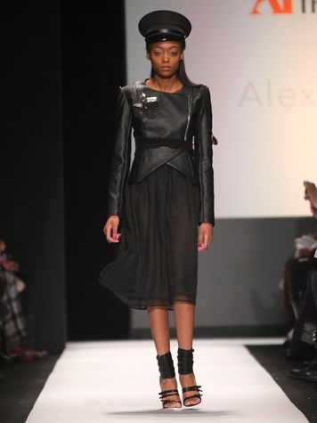Clifford New York Fashion Week fall 2015 The Art Institutes winners February 2015 Alexa DiBasio - LOOK 1
