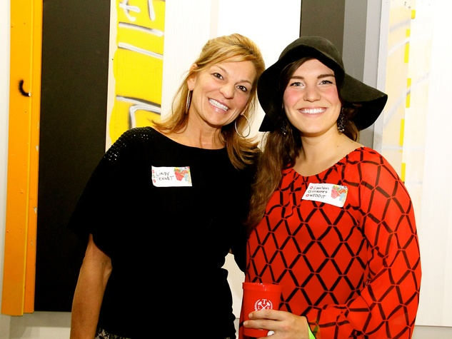 2 Lindy Tennet, left, and Lauren Tennet at the Black Sheep Agency Care-All Christmas party December 2013