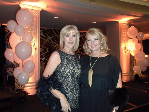 Joni Robertson, left, and Suzi Hanks at the Devereux Texas Gala March 2015