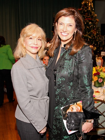 9545, For All Humanity luncheon, December 2012, Susan Boggio, Rosemarie Johnson