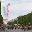 Bastille Day, Arc de Triomphe, parade