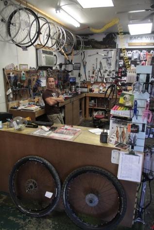 echanic Brian Robbins of Tsunami Cycles