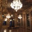 Cherri Carbonara Baccarat factory tour April 2015 Maison Baccarat event room
