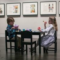 Harry Ransom Center_Alice's Adventures in Wonderland_children_tea party_2015