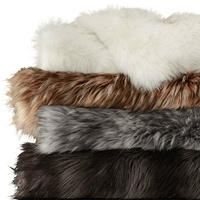 Faux fur throw from Restoration Hardware