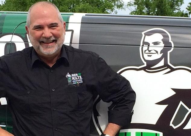 Houston, Men In Kilts, May 2015, Bob Cavnar