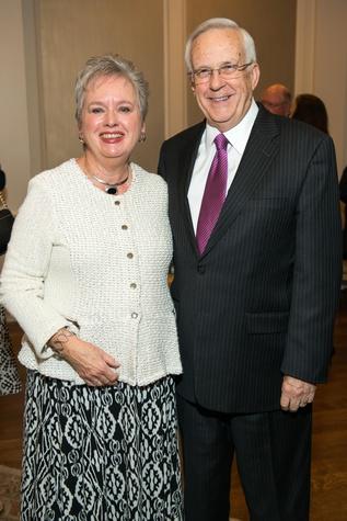 Joan and John Scales at the Bill Hobby Roast January 2015