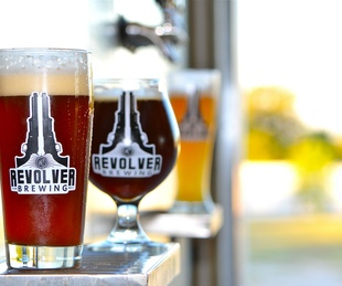 Revolver Brewing in Granbury, Texas