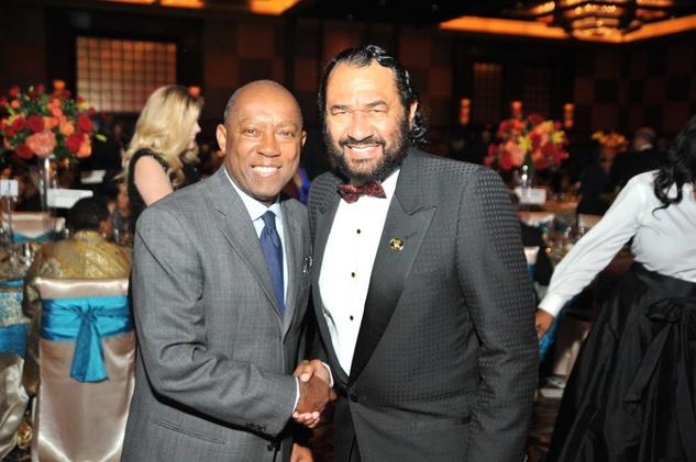News, UNCF Gala,  Nov. 2015, Sylvester Turner, Al Green