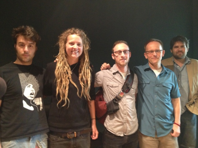 Fusion slam poets visit KUT radio