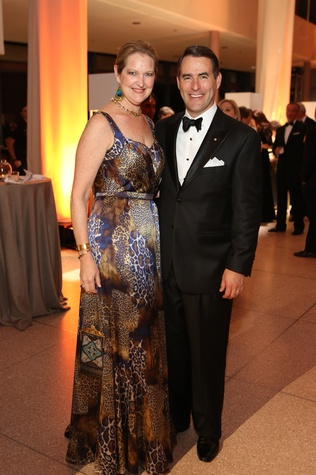 News, Shelby, Museum of Natural Science gala, March 2015 Joella Mach, Steve Mach