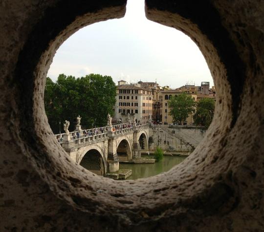 Castle Saint Angelo in Rome
