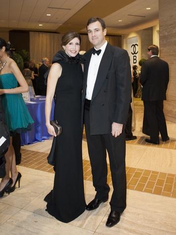Kara Axley, Jeff Axley, Crystal Charity Ball 2014
