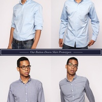 Wool & Prince shirt models