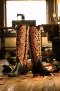 M.L. Leddy's custom boots