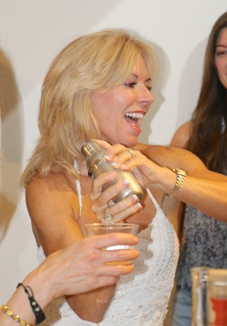 Cheryl Boblitt at the Define Body & Mind cocktail party July 2014