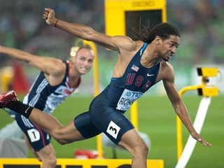 Jason Richardson, 2012 Olympics, track and field