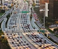 Houston traffic Galleria area traffic jam