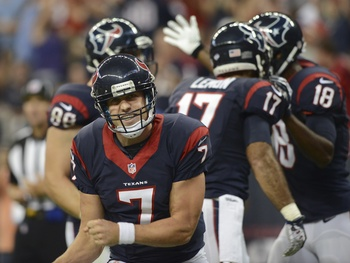 Case Keenum excited Texans