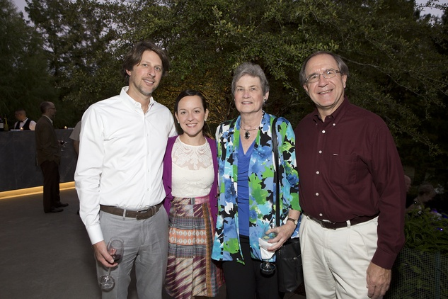 15 Chad and Amanda Brown, from left, and Ginni and Jim Robertson at the Bayou Preservation Association 15th annual glala Bayoutopia October 2014.
