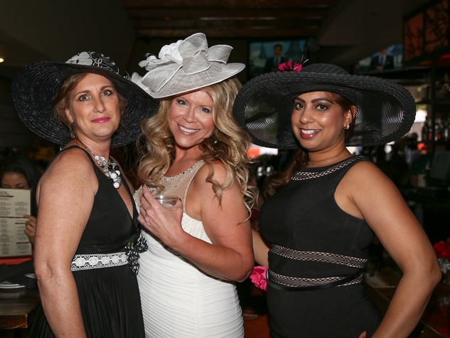 Austin Influential Group Derby Day at Ten Oak Amy Persaud Sharon Owens Lacey Shafer