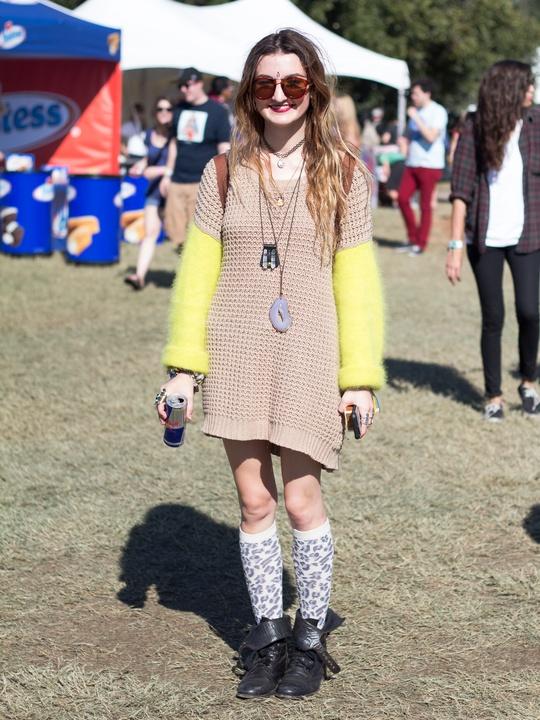 Fun Fun Fun Fest 2014 Fashion Style Lia Borodina