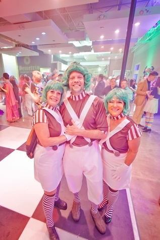 Fresh Arts Gum Ball Gala 2015 Mark Meldrum, Karen Meldum and Mary Stanton