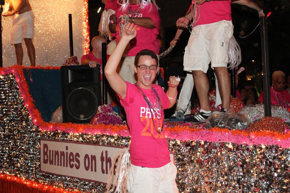 Gay Pride Parade, Bunny Pride Float, June 2012