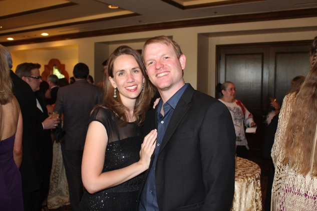 Gala Del Museo Arte Y Glamour benefiting the Mexic-Arte Museum. Jennifer and Scott Griffin