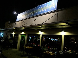 Austin Photo: Places_food_mothers cafe and garden exterior
