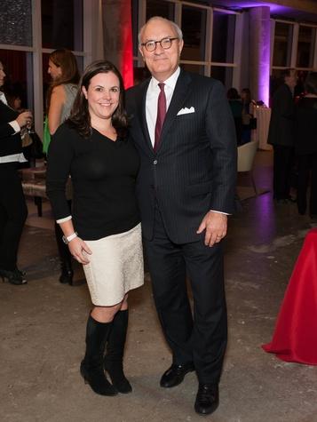 Jennifer Burns, Bob White, Museum Tower Partners Card Party