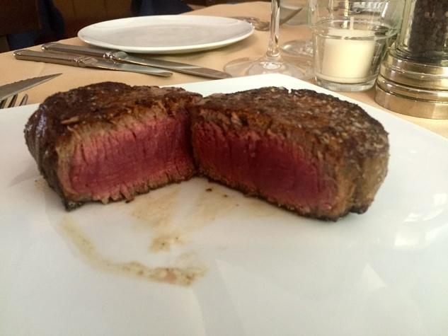 Harwood Grill filet