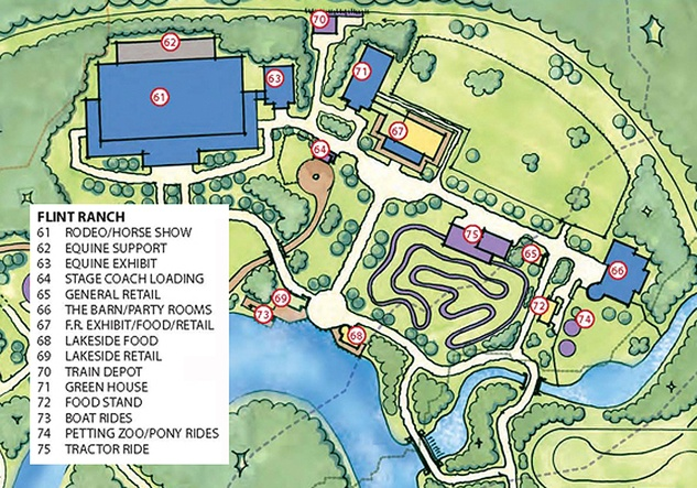 Grand Texas Theme Park Flint Ranch