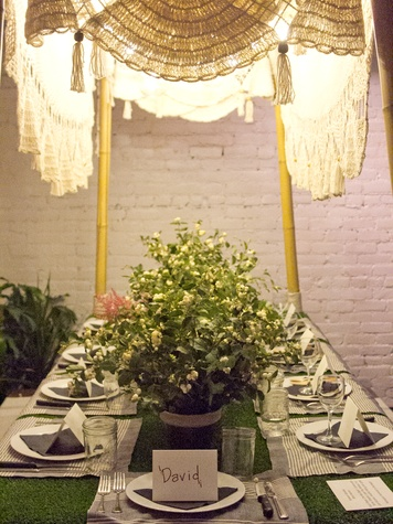 DIFFA's Urban Picnic by Design at Trinity Hall Rebekah Gainsley Blink Interiors